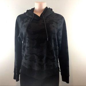 Calvin Klein Black Camo Hoodie - B14